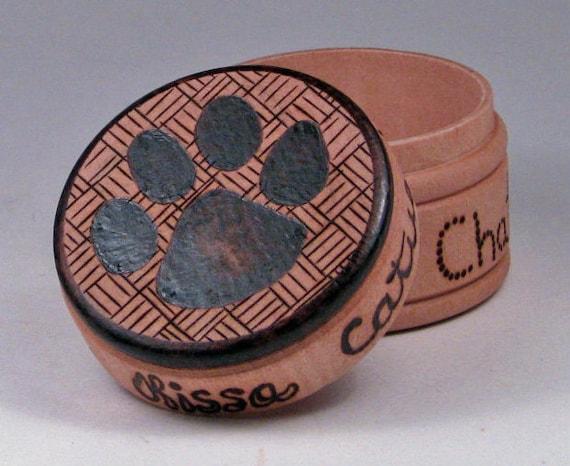 Woodburning Cat Box