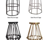 Cage Only Add on - 4 Choices - Lamp Guard - Bulb Guard - Industrial Pendant Light - Lamp shade