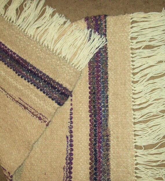 Hand Woven Rug-alpaca Wool Rug-large Throw Rug-coffee Table
