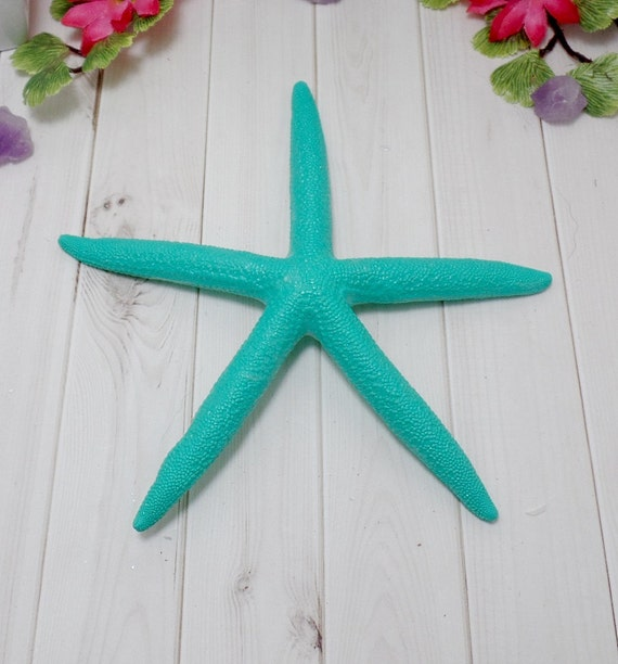 Blue Painted Starfish - Beach Decor - Starfish Decor - Bowl Filler - Coastal Decor - Home Decor