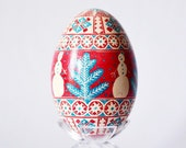 Snowman gifs for kids Goose Egg Pysanka Ukrainian Easter egg ornaments, hand painted egg with hot beeswax