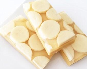 Soap, Banana Cream Pie Soap Bar, Buttermilk Glycerin Bath Soap, Banana Soap