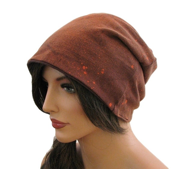 BROWN BEANIE - Womens Slouchy Beanie - Hipster Beanie - Mens Beanie - Oversized Beanie - Slouch Hat - Beanie Hat - Slouch Beanie - Cool Hat