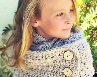 Crochet Pattern, Crochet Cowl Scarf Pattern, Cowl Crochet Pattern, Women's Scarf Crochet Pattern, Child Crochet Cowl Pattern, Scarf Pattern