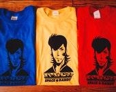 Space Dandy Inspired Screenprinted T-Shirt