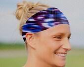 Performance Headband | Fitness Headband | Workout Headband | Yoga Headband | Tie Dye Headband | FREE SHIPPING |