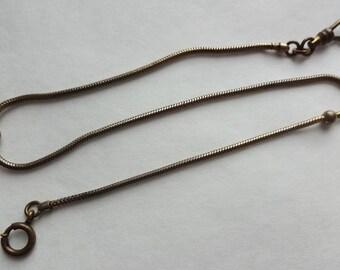 Serpentine Chain Watch Fob by Swank