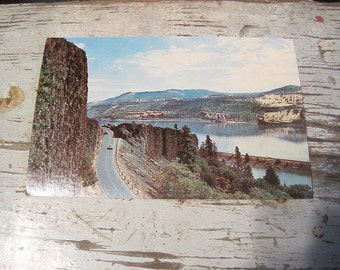 Post Card along Columbia River, Washington