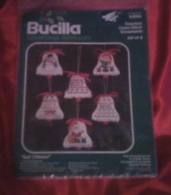 Bucilla Bell Chimes Cross Stitch kit