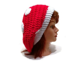 Mushroom Hat, Amanita Muscaria, Fly Amanita Hat, Novelty Hat, Mushroom Cosplay, Mushroom Tam, Red Mushroom Hat, Amanita Muscaria Hat