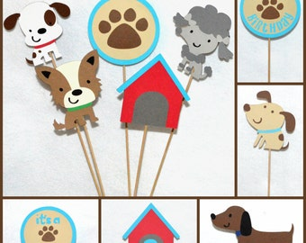 Pokey Puppy Puppy Centerpiece Sticks YOU CHOOSE NUMBER & KiND from 10 Dog Birthday Pawty Accent Stick options Table Decoration Diaper Cake