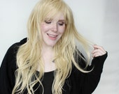 Long Blonde wig | Wavy Blonde wig | Realistic wig for everyday wear, cosplay wig, summer hair | Lionheart