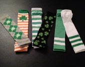 Saint Patrick's Day  Leg Warmers - 6 Styles to Choose From - Pick Your Favorite Pair