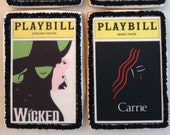 Broadway Playbill Cookies
