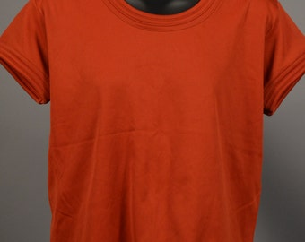 Vintage Donnkenny Deadstock Poly Pullover Blouse Large