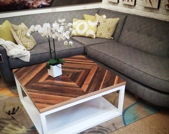 Reclaimed wood coffee table - SALE - 30% Off