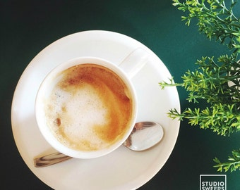 Verde Cafe // 5x5 Coffee Print // Travel Photography