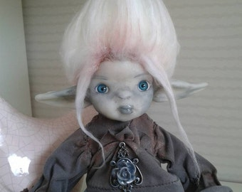 Silvhen  - Ooak articulated art doll (WORLDWIDE SHIPPING INCLUDED)