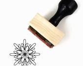 "Rubber Stamp Mandala Pattern 3 - ""Connect"" Mandala Drawing Stamp"