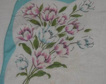 Floral Vintage Hanky