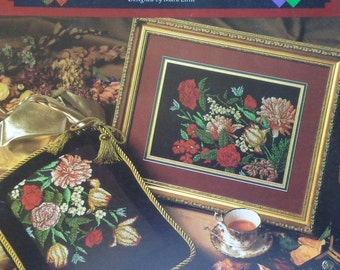 Mark Little EXQUISITE FLORALS By Great Big Graphs - Counted Cross Stitch Pattern Chart