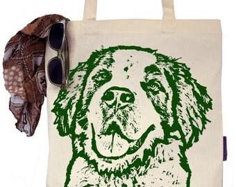 Briscoe the Saint Bernard - Eco-Friendly Tote Bag