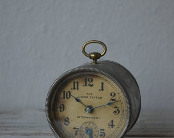 Antique Miniature Alarm Clock