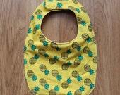 Pineapple Fruit Baby Bib Adjustable/Reversible