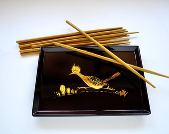 Otagiri Roadrunner Sushi Trays with Chopsticks Set of 4