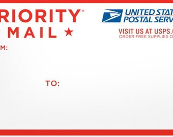 Shipping to Priority or Overnight Upgrade.