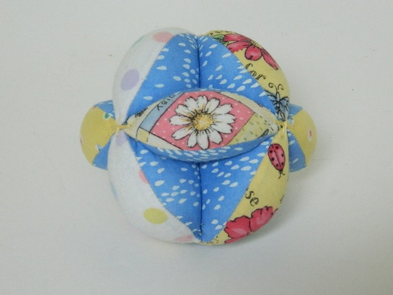 how to make a fabric puzzle ball