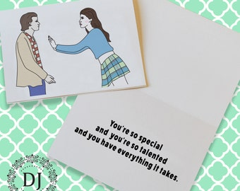 Empire Records You're So Special Greeting Card