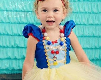 Snow White Birthday Headband  - Snow White  Party - Snow White Headband