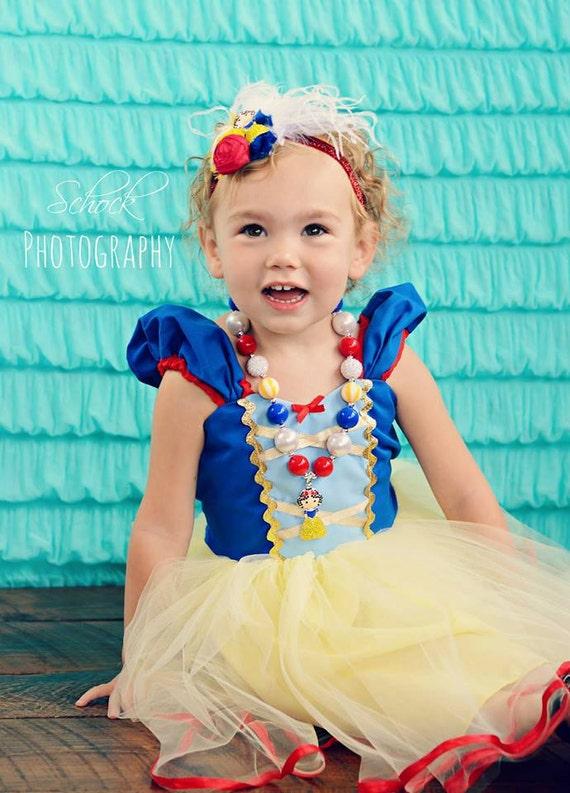 Snow White Birthday Headband Snow White Party Snow White