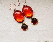 Vintage Glowing Jewel earrings