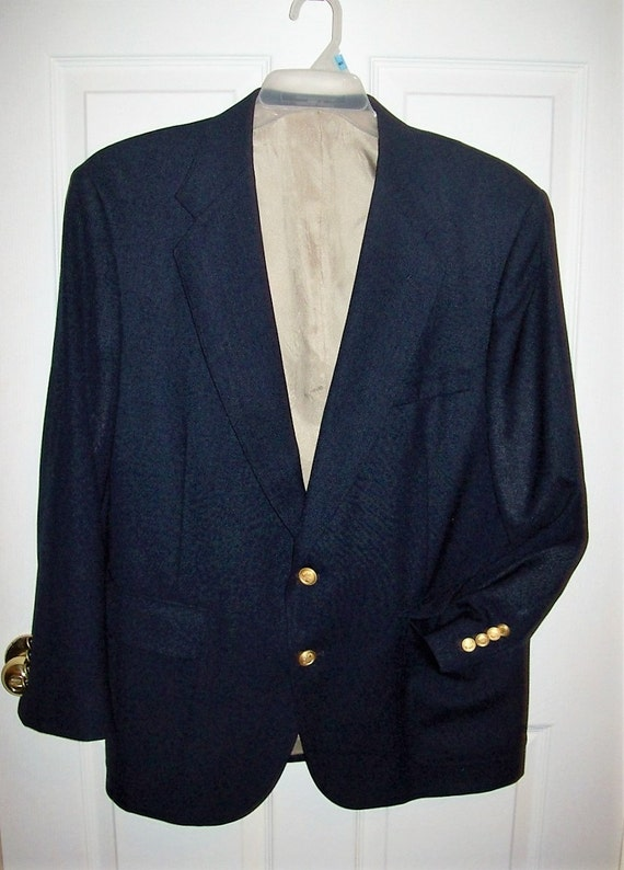 Mens vintage blazer sport coat