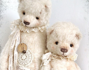 My new PATTERN Download to create teddy like Big White Marseille 19 inch