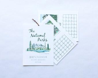 Edition #1 National Park 2017 Calendar