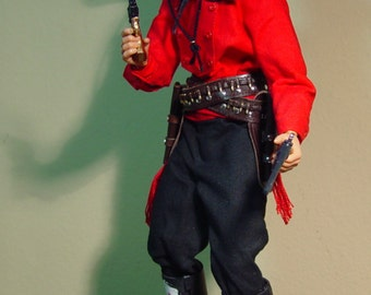 """Custom Cowboy Curly Bill Brocius from the Movie """"Tombstone"""" 1/6th Scale Limited Edition (Made to Order)"""