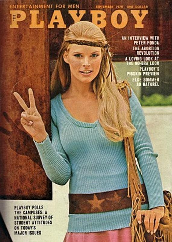 Playboy ( December 1970 ) (One Low Price) In Plastic Sleeve