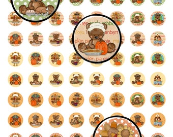 Digital Printable Thanksgiving Hershey Kiss Labels - Hershey's Kisses - Turkey Kisses Labels -Chocolate Kiss Labels
