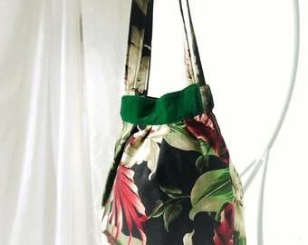 Purse, Handbag, Shoulder Bag, Big Purse, Tropical Purse, Hobo Purse, Hawaiian Purse, Large Bag, Large Tote, Bag Again