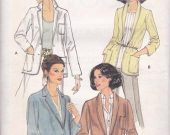 70s Jacket Pattern Vogue 7074 Size 12 Uncut