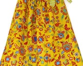 Baby girl sundress- pillowcase dress- toddler dress- floral summer dress- cotton dress- lightweight dress- custom baby dress- handmade dress
