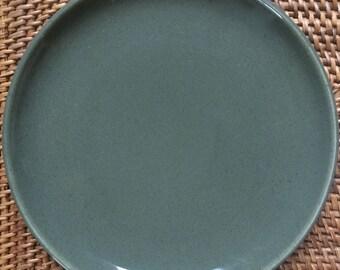 Russel Wright Bread or Dessert Plate, Cedar Green American Modern by  Steubenville