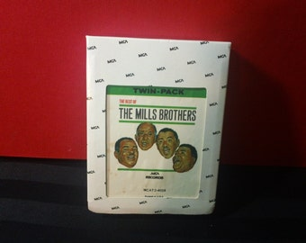 The Best of The Mills Brothers ~ MCAT 2 4039 ~ 8-Track Tape Cartridge, Twin Pack (MCA Records,197?)