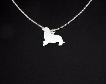 Seal Necklace - Seal Jewelry - Seal Gift