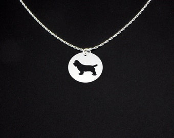 Sussex Spaniel Necklace - Sussex Spaniel Jewelry - Sussex Spaniel Gift