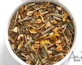 Lemon Meringue / 100% Organic Rooibos / Herbal Tea / Hand Blended / Loose Leaf /No Flavors Added