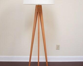 Floor Lamp Tripod Slim - Red Grandis